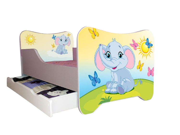 kinderbett spielbett 70x140 cm inkl lattenrost matratze. Black Bedroom Furniture Sets. Home Design Ideas