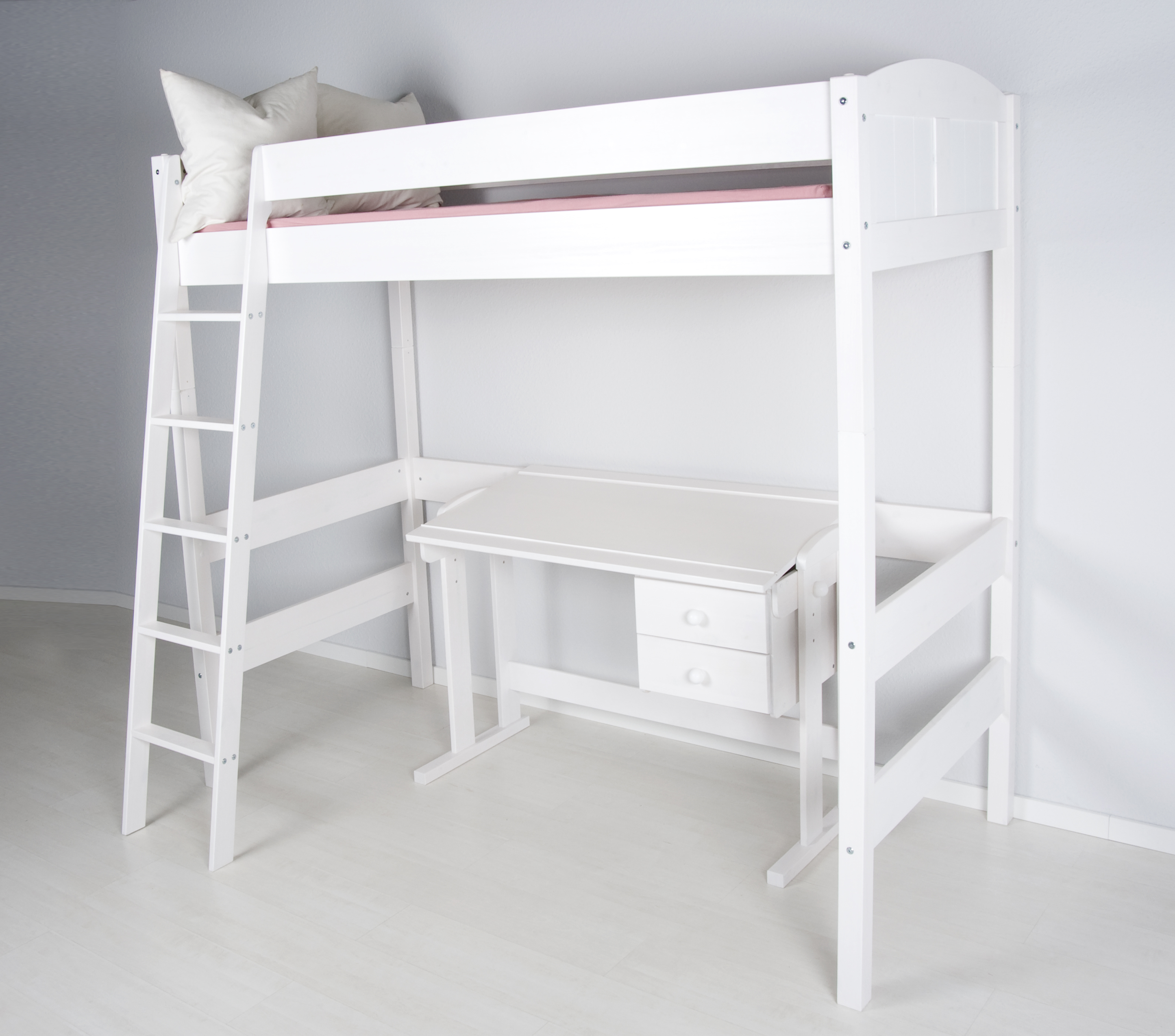 hochbett spielbett kinderbett etagenbett ida 180cm hoch ebay. Black Bedroom Furniture Sets. Home Design Ideas